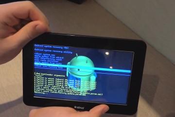 Прошивка планшета андроид